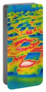 Thermogram Of A Parking Lot Portable Battery Charger