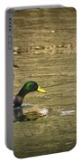 Thin Ice Wet Duck Portable Battery Charger