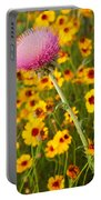 Thistle And Coreopsis 2am-110455 Portable Battery Charger
