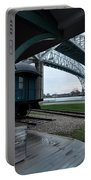 Thomas Edison Depot And Blue Water Bridges 2012 Portable Battery Charger