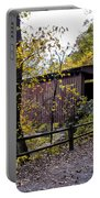 Thomas Mill Covered Bridge Over The Wissahickon Portable Battery Charger