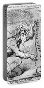 Thomas Paine Caricature Portable Battery Charger