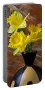 Three Daffodils Portable Battery Charger