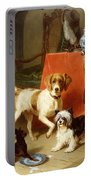 Three Dogs Portable Battery Charger by Conradyn Cunaeus