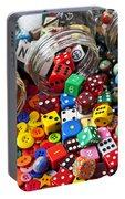 Three Jars Of Buttons Dice And Marbles Portable Battery Charger