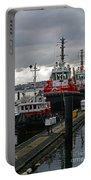Three Red Tugs Portable Battery Charger