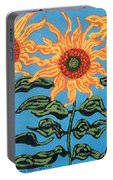 Three Sunflowers IIi Portable Battery Charger