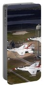 Thunderbirds Fly Past Endeavour Portable Battery Charger