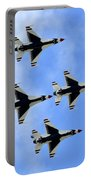 Thunderbirds In Flight Portable Battery Charger