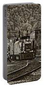 Thurmond Wv Train Sepia Portable Battery Charger