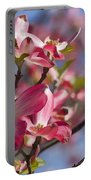 Tickled Pink Dogwood Portable Battery Charger