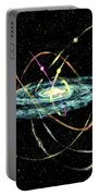 Tidal Disruption Of Dwarf Spheroidal Galaxies Portable Battery Charger