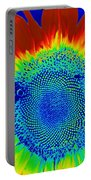 tiedyed Sunflower Portable Battery Charger
