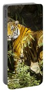 Tiger In The Rough Portable Battery Charger