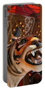 Tiger Merry Go Round Animal Portable Battery Charger