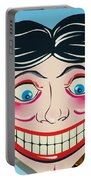 Tillie The Clown Of Coney Island Portable Battery Charger