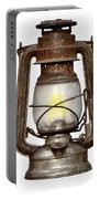 Time Worn Kerosene Lamp Portable Battery Charger