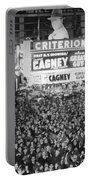 Times Square Election Crowds Portable Battery Charger