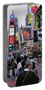Times Square New York Portable Battery Charger