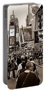 Times Square New York S Portable Battery Charger