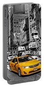 Times Square Taxi  Portable Battery Charger