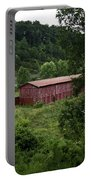 Tobacco Barn From Afar Portable Battery Charger