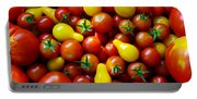 Tomatoes Background Portable Battery Charger