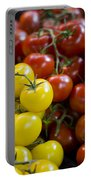 Tomatoes On The Vine Portable Battery Charger by Heather Applegate