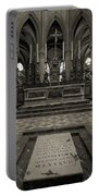 Tomb Of William The Conqueror Portable Battery Charger