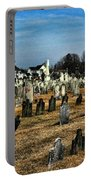 Tombstones Portable Battery Charger by Paul Ward