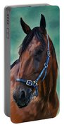 Tommy - Horse Painting Portable Battery Charger