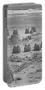 Topsail Island Sandcastle Portable Battery Charger