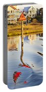 Topsail Sound Sunset Portable Battery Charger by Betsy Knapp