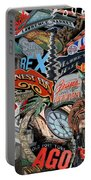 Toronto Pop Art Montage Portable Battery Charger
