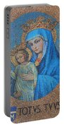 Totvs Tvvs - Jesus And Mary Portable Battery Charger