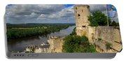 Tour Du Moulin And The Loire River Portable Battery Charger