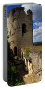 Tour Du Moulin At Chateau Chinon Portable Battery Charger