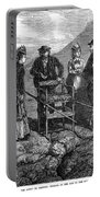Tourists At Vesuvius, 1872 Portable Battery Charger