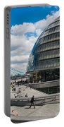 Tower Bridge With City Hall Portable Battery Charger