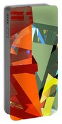 Tower Series 44 Tangerine Picnic Portable Battery Charger