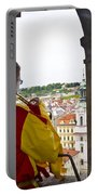 Tower Trumpeter - Prague Portable Battery Charger