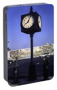 Town Clock Portable Battery Charger