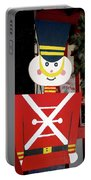 Toy Soldier Christmas In Virginia City Portable Battery Charger