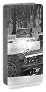 Tractor At The Mill  Portable Battery Charger