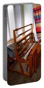 Traditional Weavers Loom Portable Battery Charger by LeeAnn McLaneGoetz McLaneGoetzStudioLLCcom