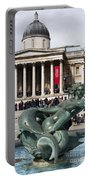 Trafalgar Square With Fountain Portable Battery Charger
