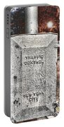 Traffic Control Box Portable Battery Charger by Paul Ward