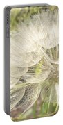Tragopogon Dubius - Yellow Goats Beard Portable Battery Charger