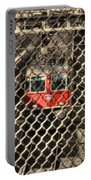 Train Behind A Fence Portable Battery Charger