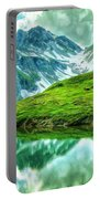 Travelers Rest Swiss Alps Portable Battery Charger